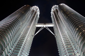 Petronas Tower at night