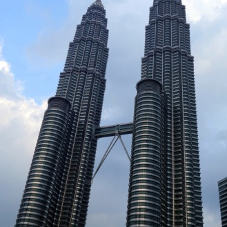 Back at the Petronas Towers