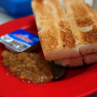 Kaya Toast at Yut Kee