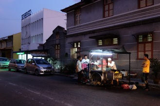 Char kway teow stall