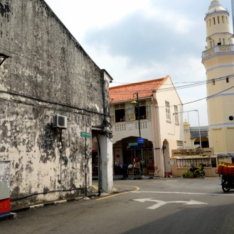 Street wandering near the indian quarter