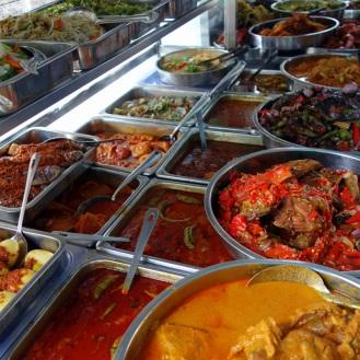 Nasi Padang at International Hotel