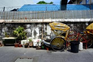 Pedicab parking