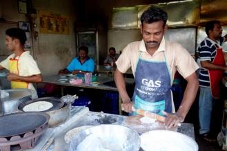 Chapati stall