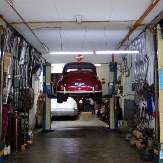 Shophouse garage