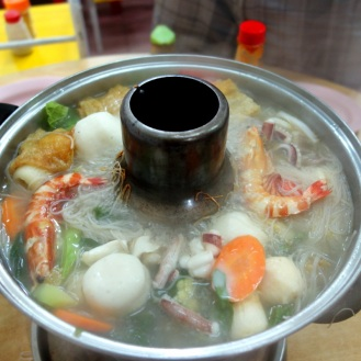 Delicious steamboat (hotpot)
