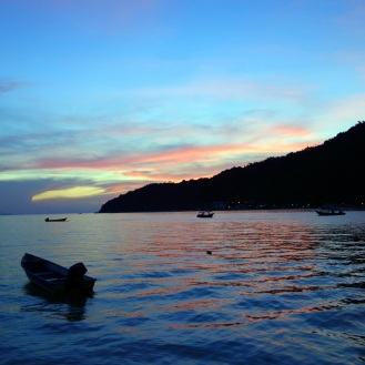 Beautiful Perhentian sunset