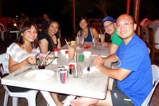 Dinner with new friends (Shu, Sabrina & Kelvin)