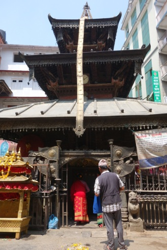 A temple in Thamel