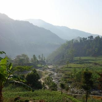 First views of the trek.