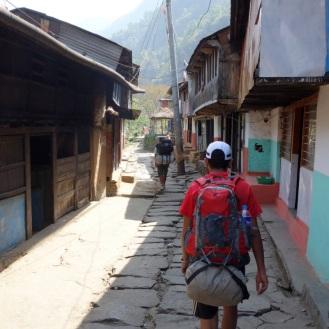 Walking through Bhulbhule