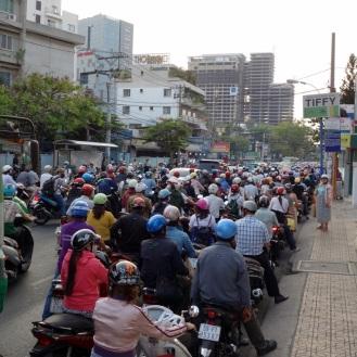 rush hour traffic!