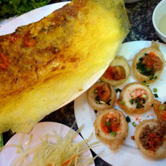 banh xeo and banh khot