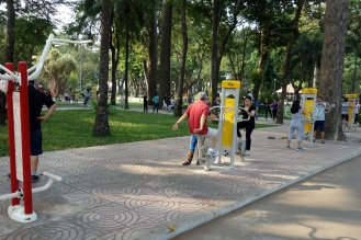 exercise machines in public parks