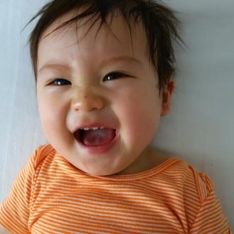 Daniel in a happy mood!