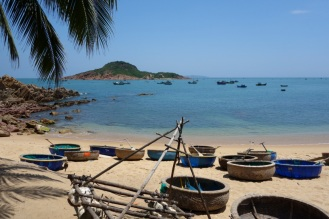 The view we woke up to every day at Haven in Bai Xep