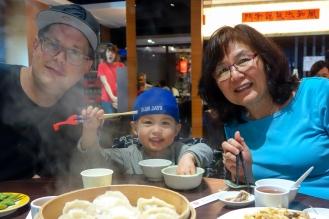 An amazing dumpling meal