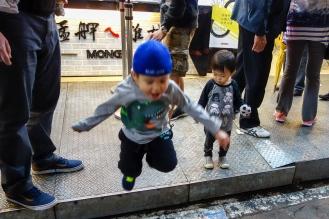 Daniel mid-jump