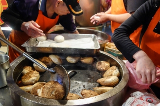 Raohe Night Market Pepper Pork Buns!