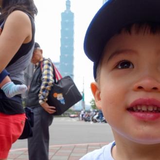 Daniel and Taipei 101
