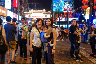 Visiting the Raohe St. Night Market
