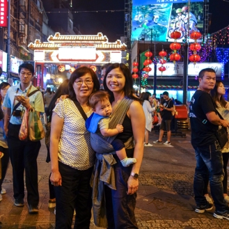 Visiting the Raohe St. Night Market