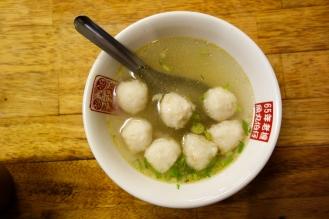 Fish ball soup!