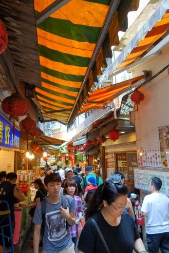 Busy Jiufen Old Street