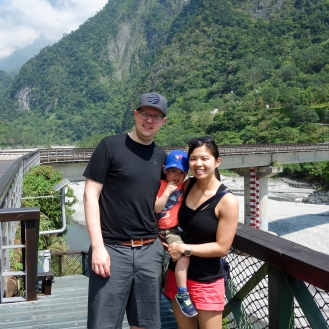 At the Taroko entrance