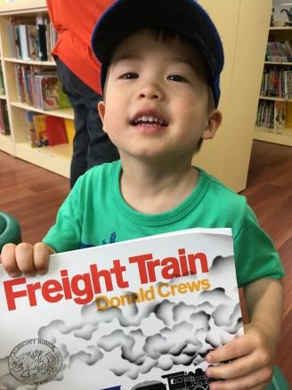 We even found one of Daniel's favourite books!